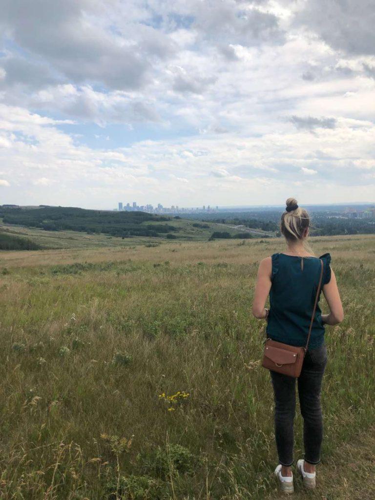 Rozhovor Štěpána a Barči - výhled na Calgary