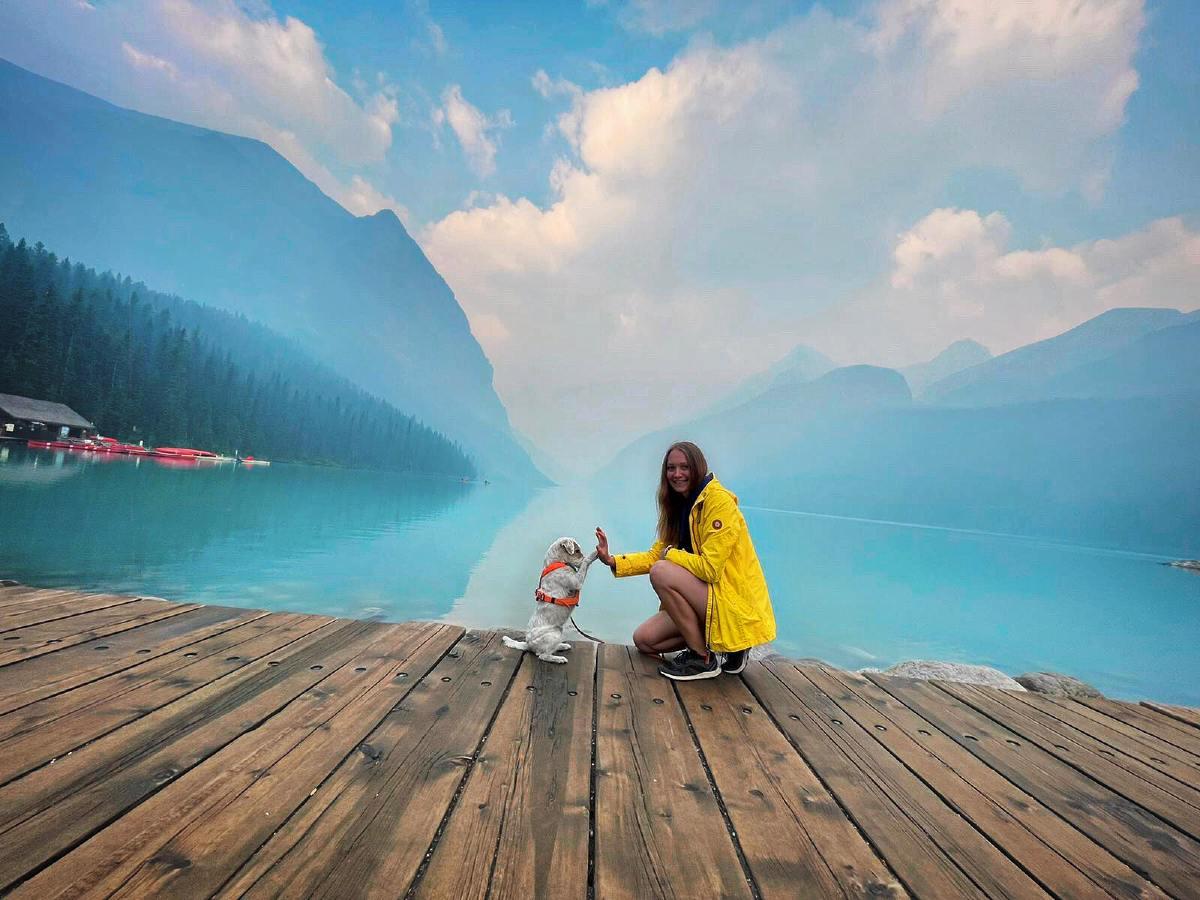 Rozhovor s Petrou a čtyřnohou Annie: Cestování se psem do Kanady