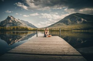 Rozhovor s Petrou a Annie-jezero