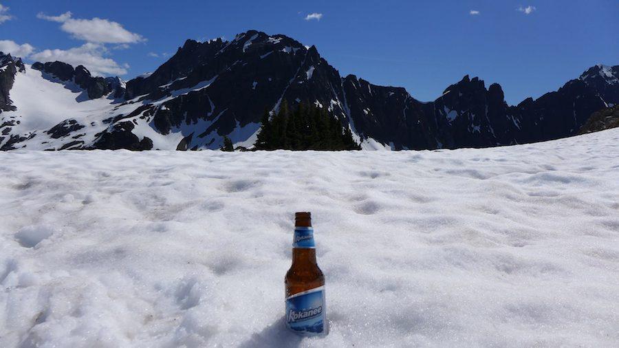 Kokanee pivo v Kanadě