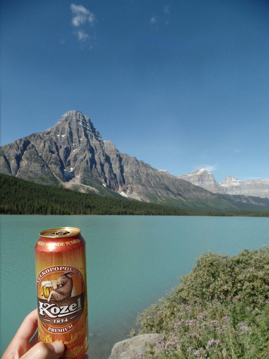 Kozel pivo v Kanadě