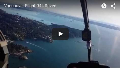 Let vrtulníkem na Vancouverem