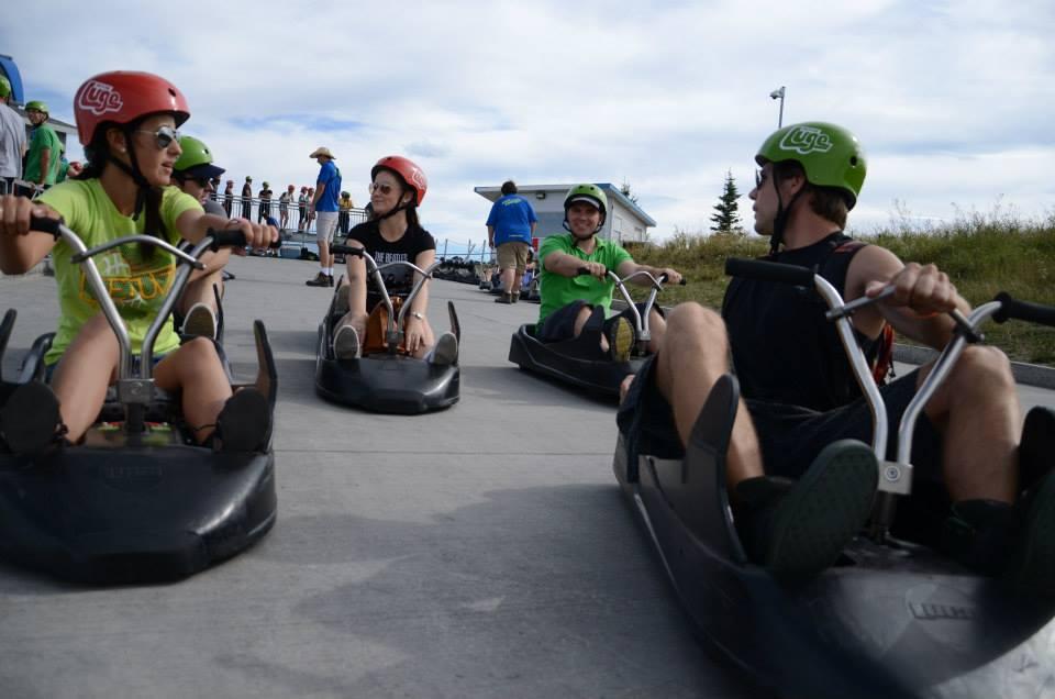 Luge Olympijský park Calgary 04