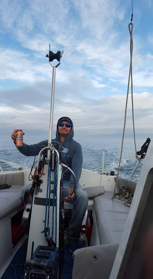 Pivo v Kanadě na lodi