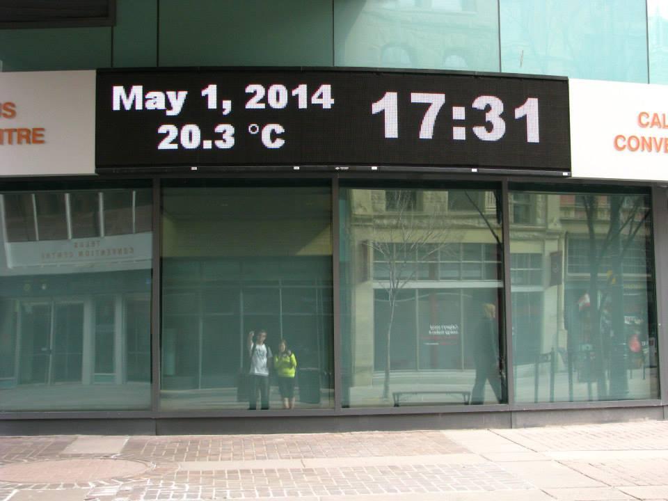 Počasí v Calgary